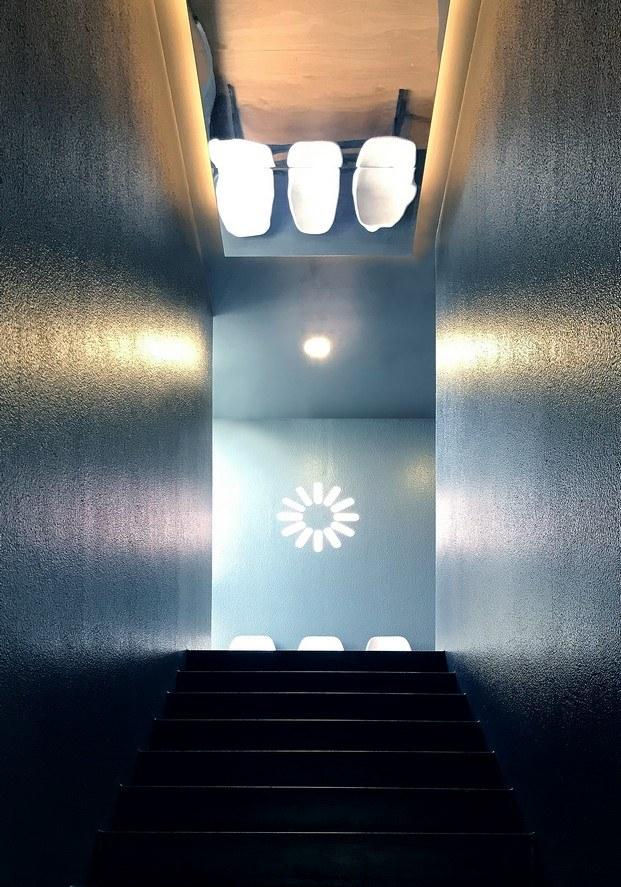 astudio estudio fotográfico planta superior con espejo diariodesign