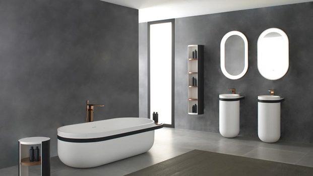 baño cemento gris diariodesign