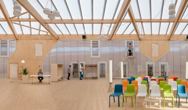 interior maison du projet economía circular diariodesign