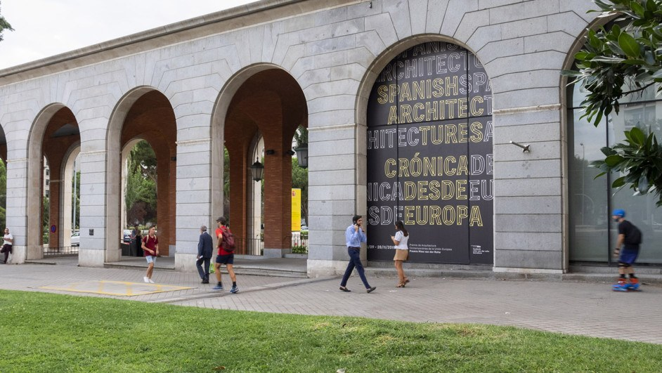 exposicion proyectos de arquitectos españoles en la arquería diariodesign