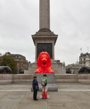 london design festival 2018 es devlin trafalgar square diariodesign