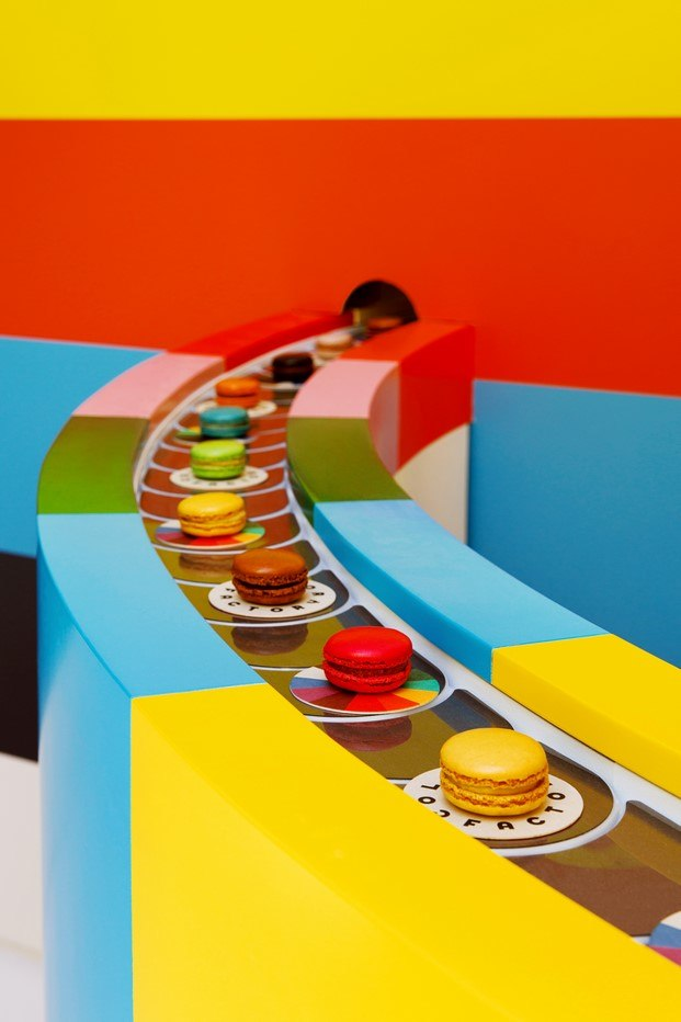macarons color factory diariodesign