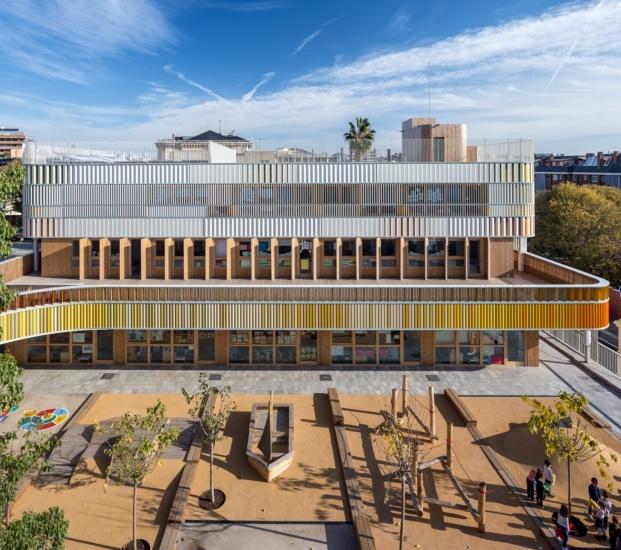maternelle du lycee francais diariodesign nuevo edificio