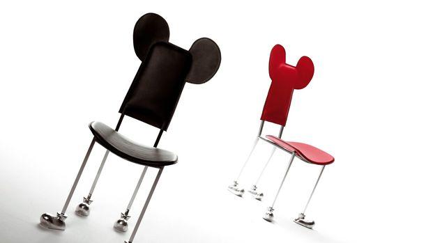 Silla pies orejas Mickey Mouse Garriris Javier Mariscal diariodesign