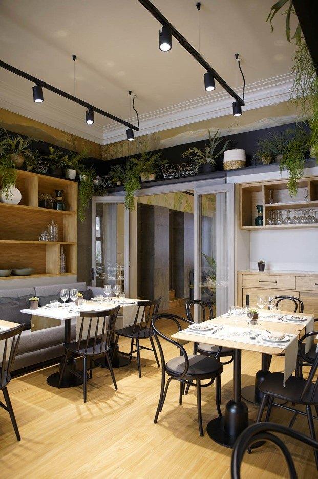 vida y vegetacion restaurante viu by tapinas terrassa diariodesign