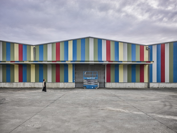 exterior colores fábrica de agua taiwan diariodesign
