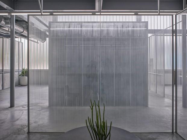 paneles de vidrio fábrica de agua taiwan diariodesign