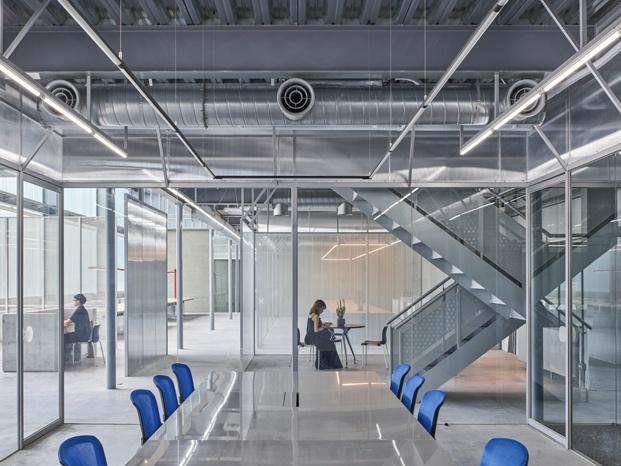 waterfrom design sala de reuniones mejores oficinas 2018 en diariodesign