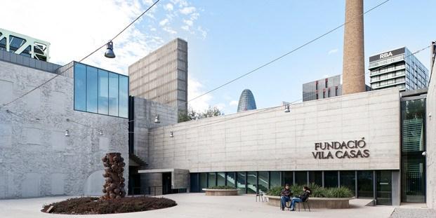 Entrada Fundació Vila Casas de Barcelona Poblenou diariodesign