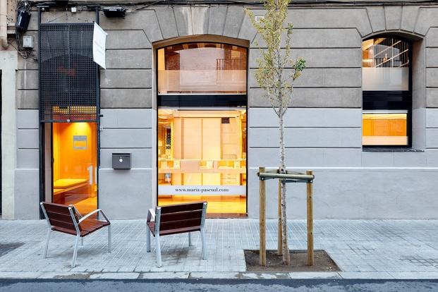 exterior joyería María Pascual en Gràcia Barcelona