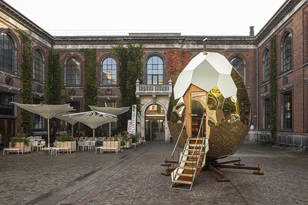 solar egg kunsthal charlottenborg diariodesign