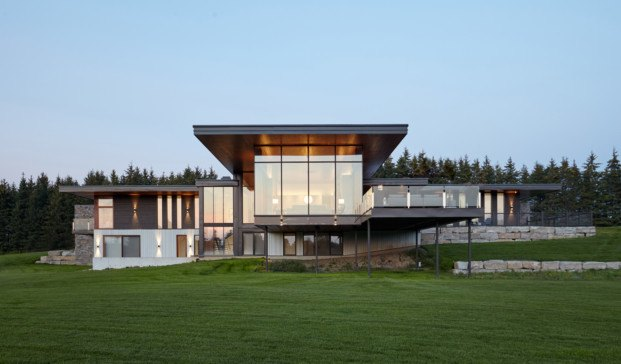 Stouffville Residence, de Trevor McIvor Architect Inc.