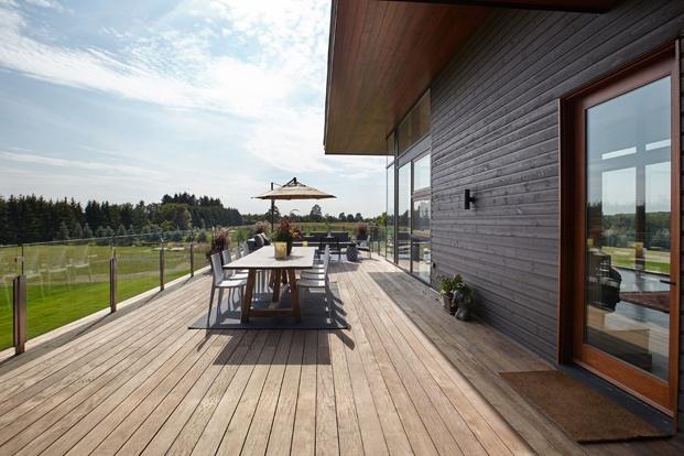 terraza construcción rural en toronto diariodesign