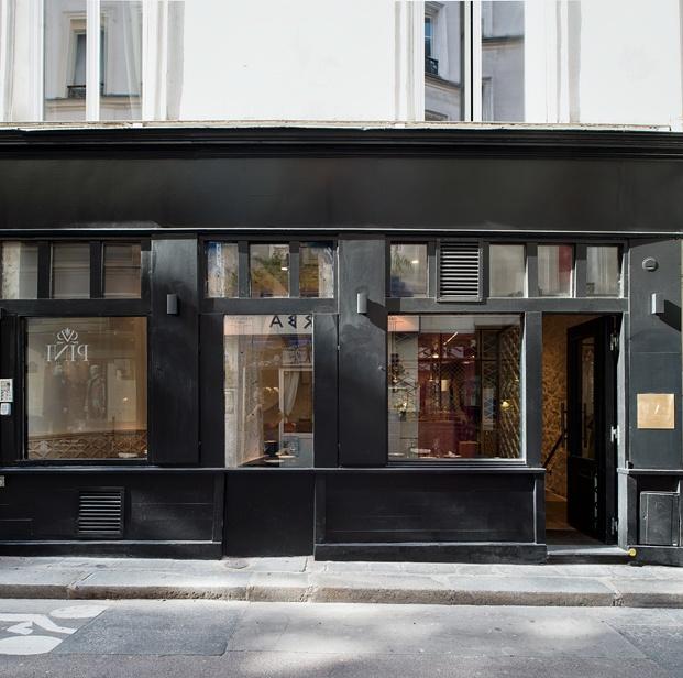 fachada exterior restaurante en París yoshinori diariodesign