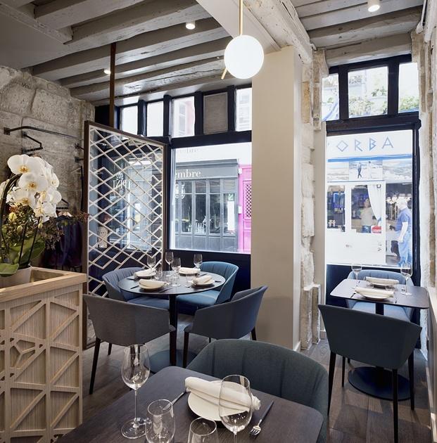 ventana restaurante en París yoshinori diariodesign