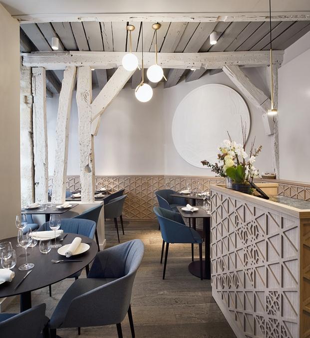 interior restaurante en París yoshinori diariodesign