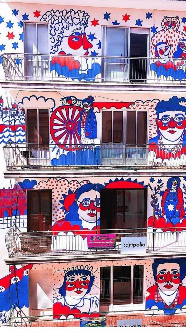arte urbano en salamanca ricardo cavolo diariodesign