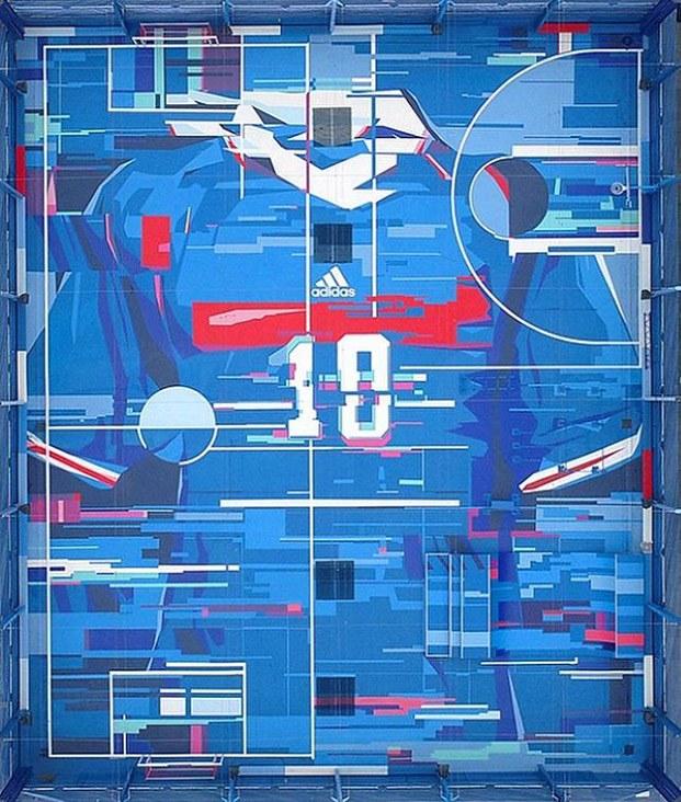 campos deportivos de diseño zidane francia fútbol