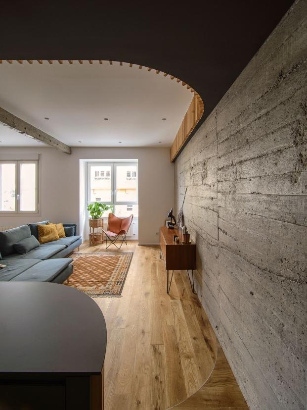 casa lb05 garmendia cordero arquitectos diariodesign muro hormigon