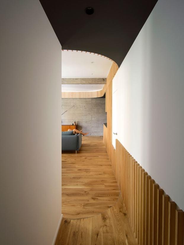 casa lb05 garmendia cordero arquitectos diariodesign pasillo