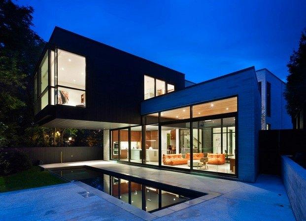 cedarvale ravine house de drew mandel en chloe arquitectura de cine diariodesign