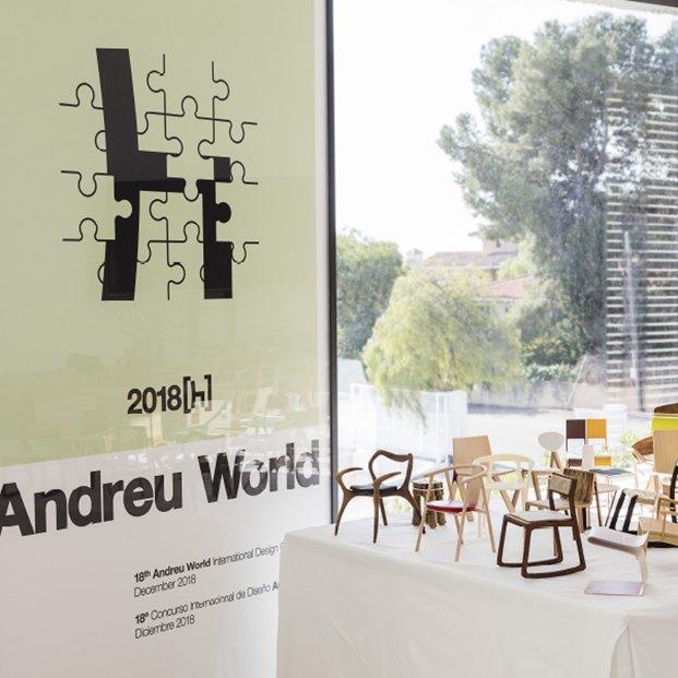 exposición 18 ediciones concurso internacional de diseño andreu world