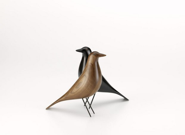 eames house bird nogal diseño animal en diariodesign