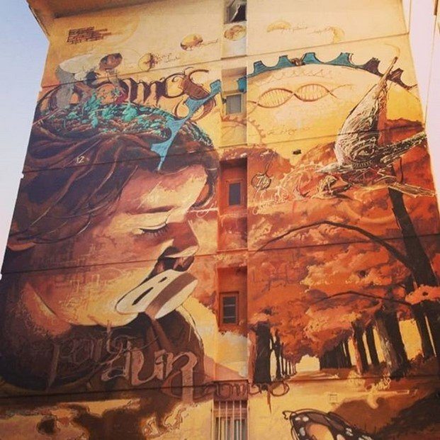 el niño de las pinturas arte urbano en sevilla diariodesign