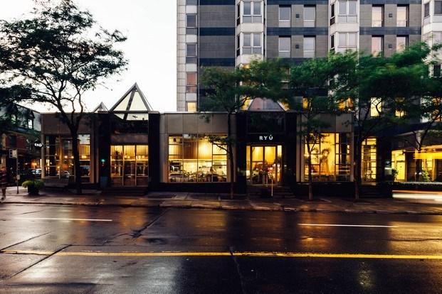 exterior restaurante ryu westmount canada