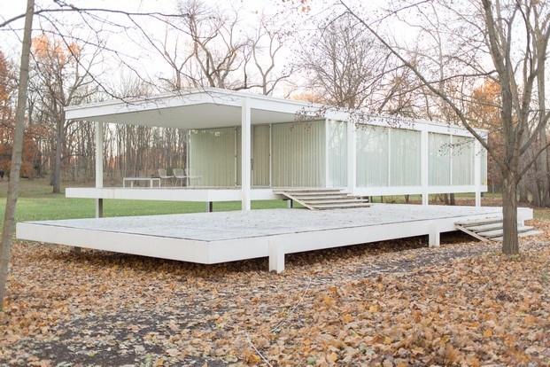 farnsworth house de mies van der rohe arquitectura de cine diariodesign
