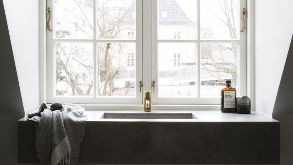 ff norm architects baño casa poul henningsen
