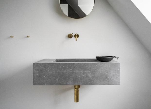 grifería baño casa norm architects poul henningsen diariodesign