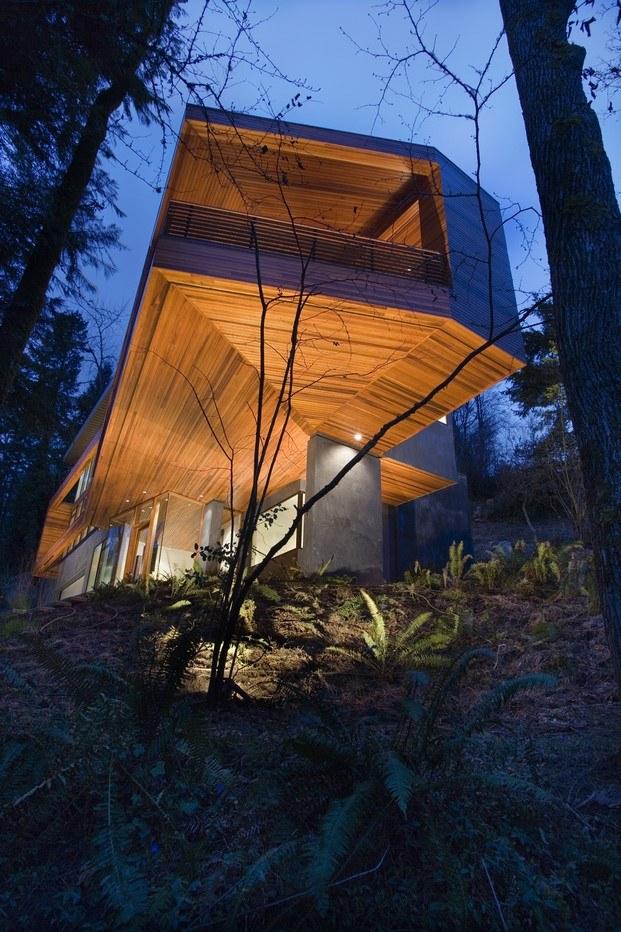hoke house de skylab en crepúsculo arquitectura de cine diariodesign