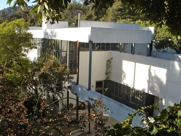 lovell house de richard neutra en la confidential arquitectura de cine diariodesign