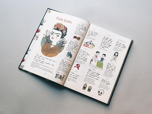 frida kahlo libro de María Hesse diariodesign