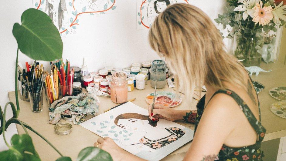 María Hesse ilustradora diariodesign