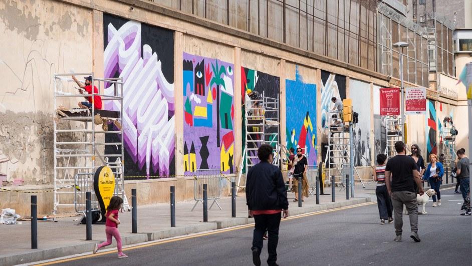 murales festival ús barcelona arte urbano diariodesign