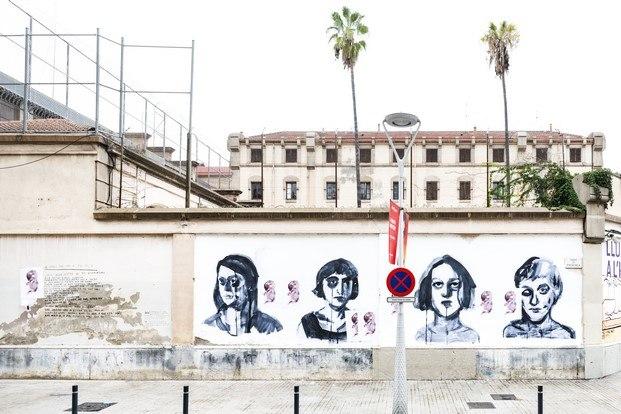 paula bonet en ús barcelona arte urbano la modelo diariodesign