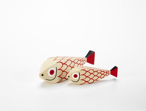 peces wooden dolls alexander girard diseño animal diariodesign