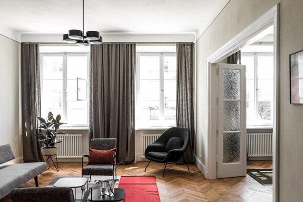 restauración suelo madera paredes yeso loft estilo europeo varsovia diariodesign