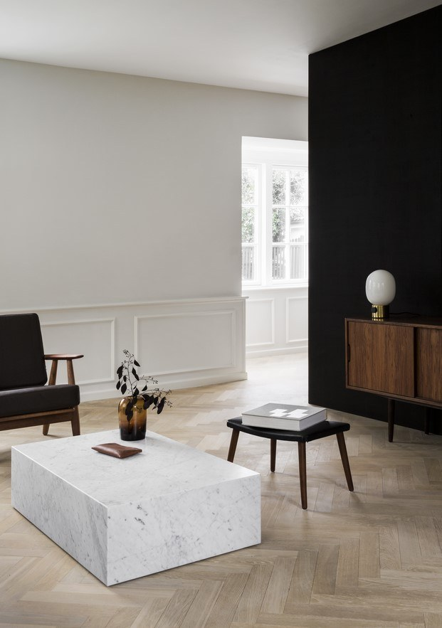 salón casa norm architects poul henningsen diariodesign