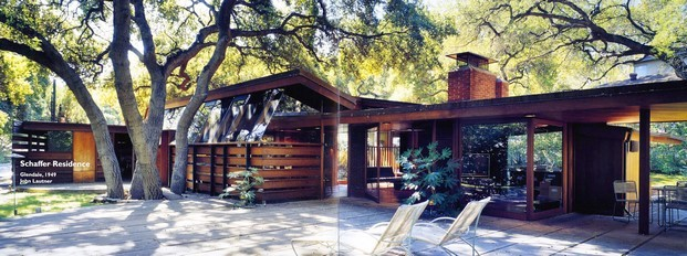 schaffer residence en a single man tom ford arquitectura de cine diariodesign