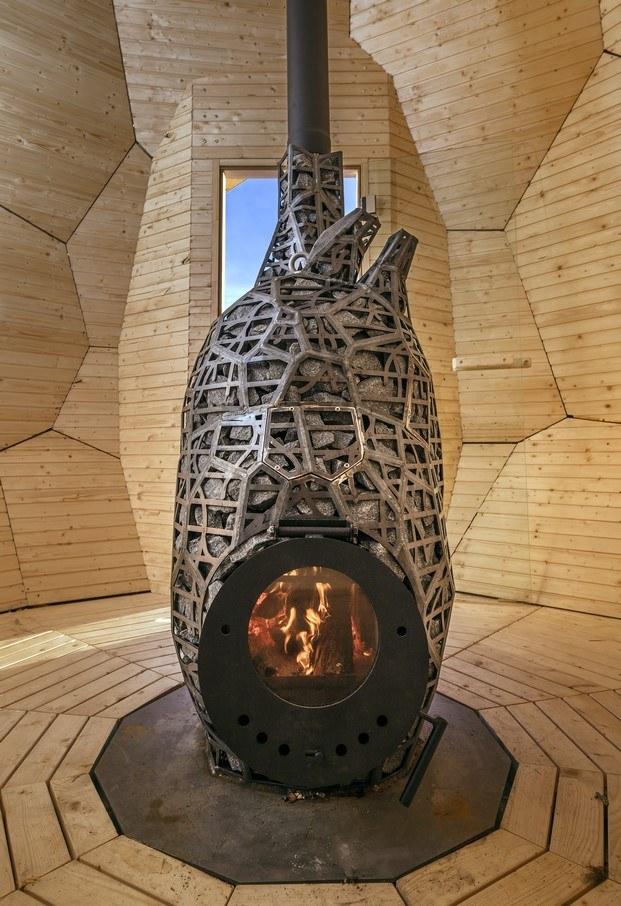 solar egg sauna chimenea diariodesign