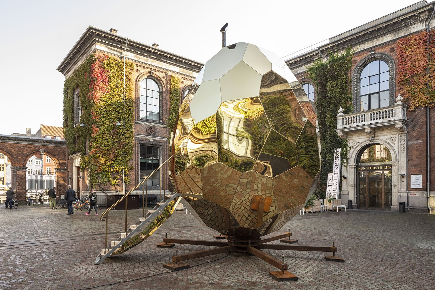 Solar Egg, la sauna viajera