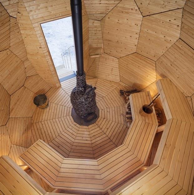 solar egg sauna interior diariodesign