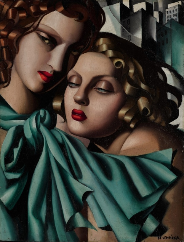 tamara de lempicka reina del art deco placio de gaviria diariodesign the young girls