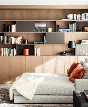 contrastes para un piso de lujo en Barcelona de adela cabre diariodesign