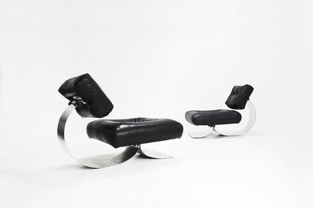 alta sillones oscar niemeyer en side gallery diariodesign