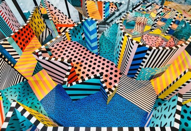 camille walala estilo memphis tendencias de color heimtextil diariodesign