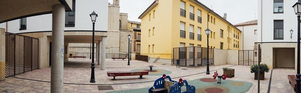 concursos de arquitectura concéntrico plaza santa ana logroño diariodesign